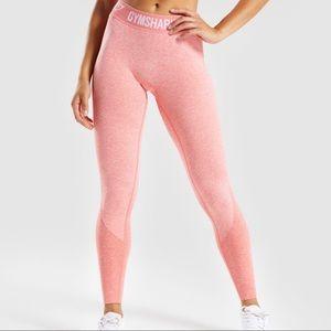 NWOT Gymshark Coral leggings